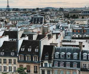 paris, wanderlust, and buildings image