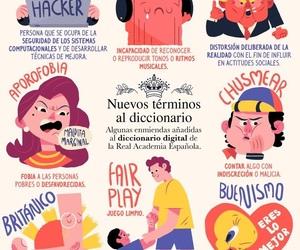 diccionario, palabras, and pictoline image