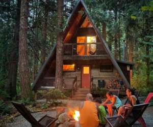 amazing, cabin, and family image