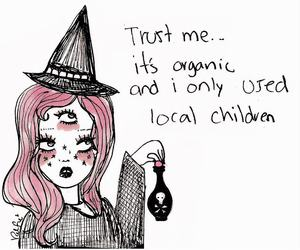 valfre, witch, and art image