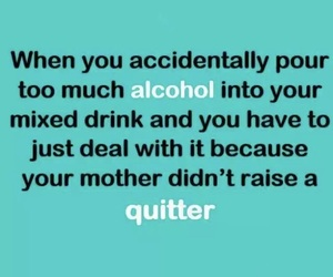alcohol, funny, and dont give up image