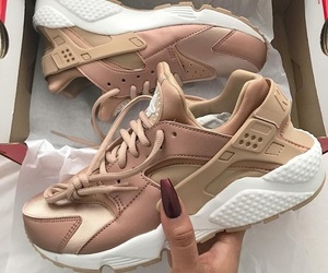 Nude, huaraches, and shoes image