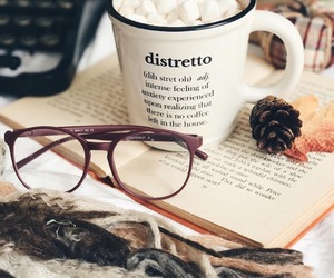 book, glasses, and books image