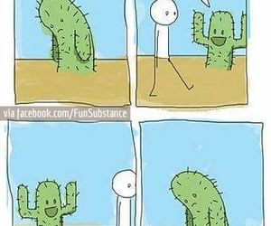 awesome, cactus, and lol image