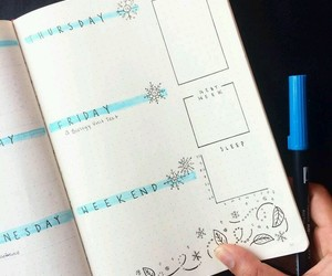 blue, plan, and study image