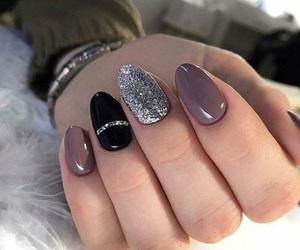 nail, uñas, and nailpolish image