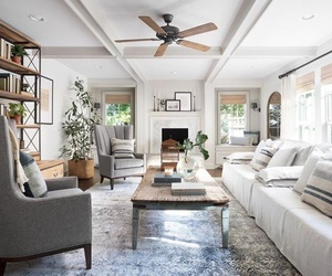 beach house, interior design, and style image