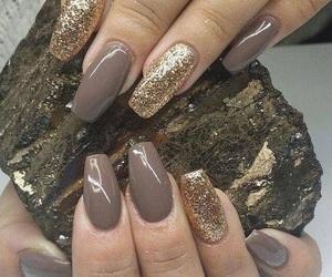 golden, nail, and dorado image