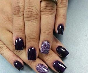 black, hands, and nail image