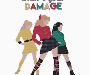 girls, green, and Heathers image