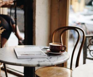 cafe, lifestyle, and stylish image