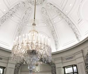 chandelier, girly, and vintage image