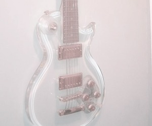 guitar, pale, and music image