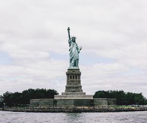 city, america, and new york image