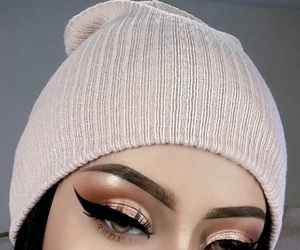 glitter, makeup, and repost image