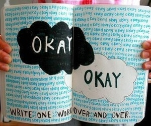 journal, wreck this journal, and okay? okay image