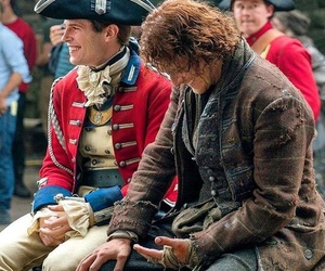 outlander, jamie fraser, and david berry image