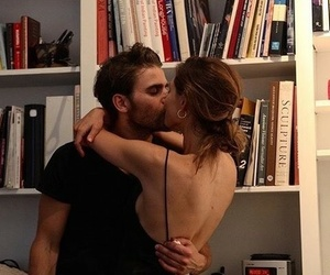 books, love, and kiss image