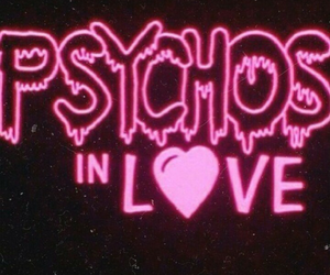 love, Psycho, and pink image
