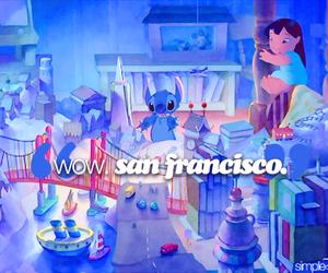california, tumblr, and lilo and stitch image