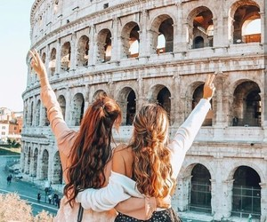 aesthetic, rome, and travel image