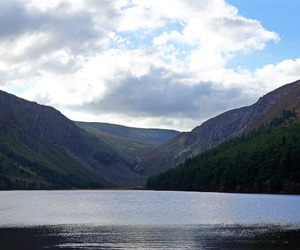 hiking, ireland, and wicklow mountains image