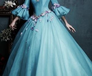 beautiful, dress, and fancy image