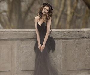 black, dark, and widow image