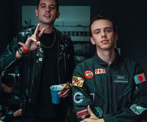 logic, g-eazy, and rapper image