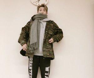 jin, rap monster, and namjoon image