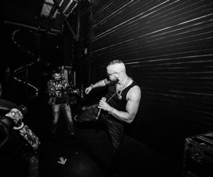 black and white, rap, and kollegah image