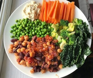 carrots, healthy, and spinach image