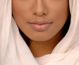 hijab, beauty, and make up image