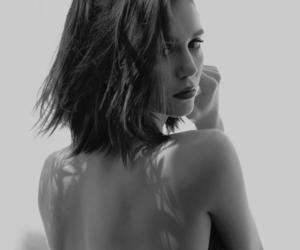 black and white, Nina Dobrev, and photoshoot image