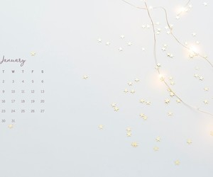 background, january, and month image