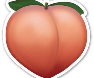 overlay, peach, and emoji image