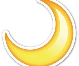 emoji, png, and moon image