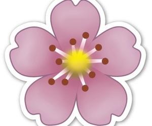 emoji, flowers, and overlay image