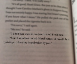 book, extracts, and the fault on our stars image