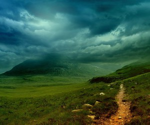 ireland, mountains, and path image