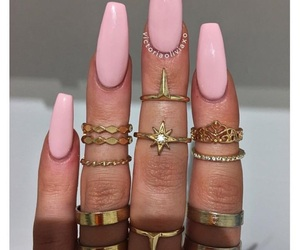 barbie, glamour, and nails image
