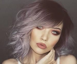 hair, lips, and makeup image