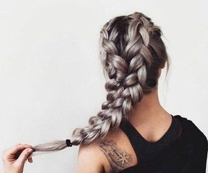 beautiful, inspiration, and braids image