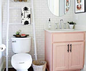 decor, pink, and interior image