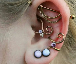 alternative, cool, and earings image
