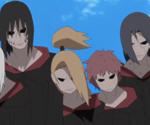 akatsuki, itachi, and naruto shippuuden image