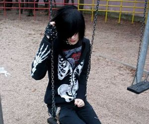 emo and boy image
