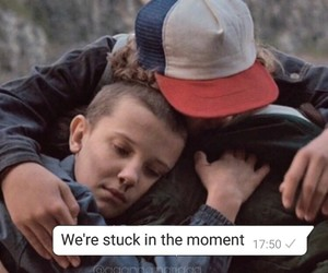 dustin, eleven, and friendship image