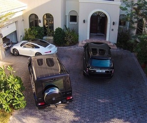 dream car, luxury home, and dream house image