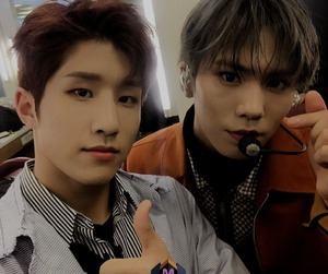 astro, rocky, and jinjin image